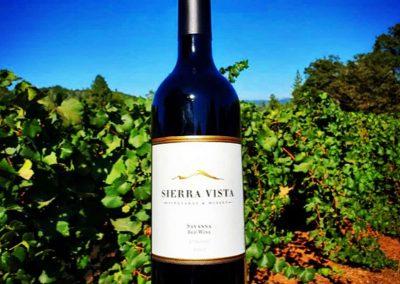 Sierra Vista Event Room - Red Wine