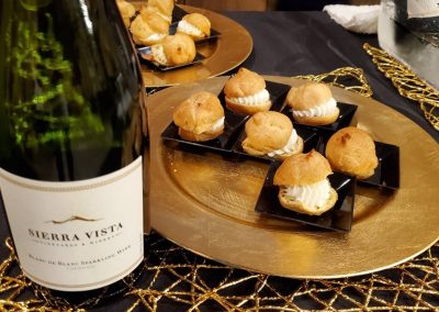 Sierra Vista - Events - Cream Puffs and Sparkling Wine