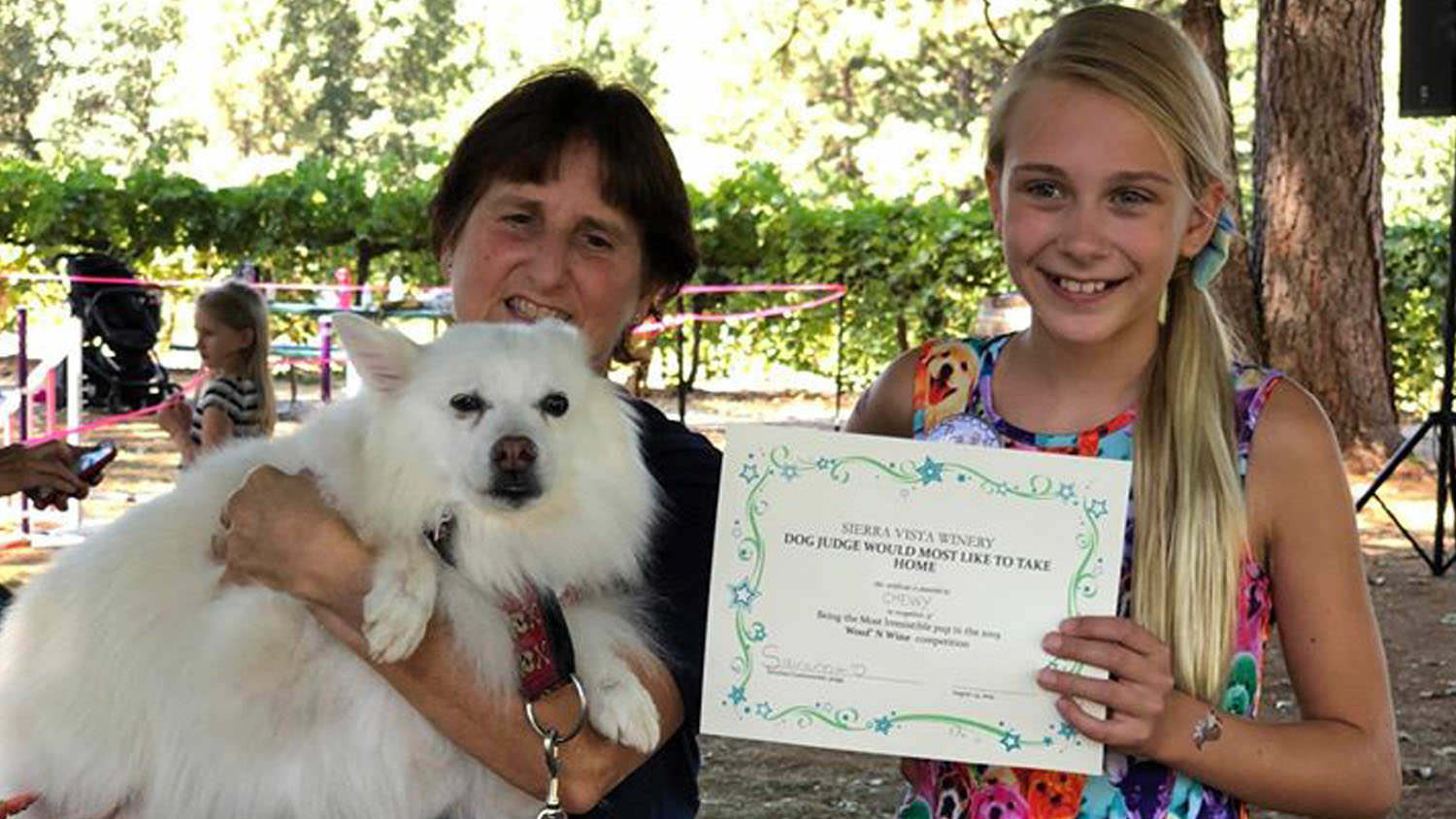 Sierra Vista - Events - Doggy Day Winner