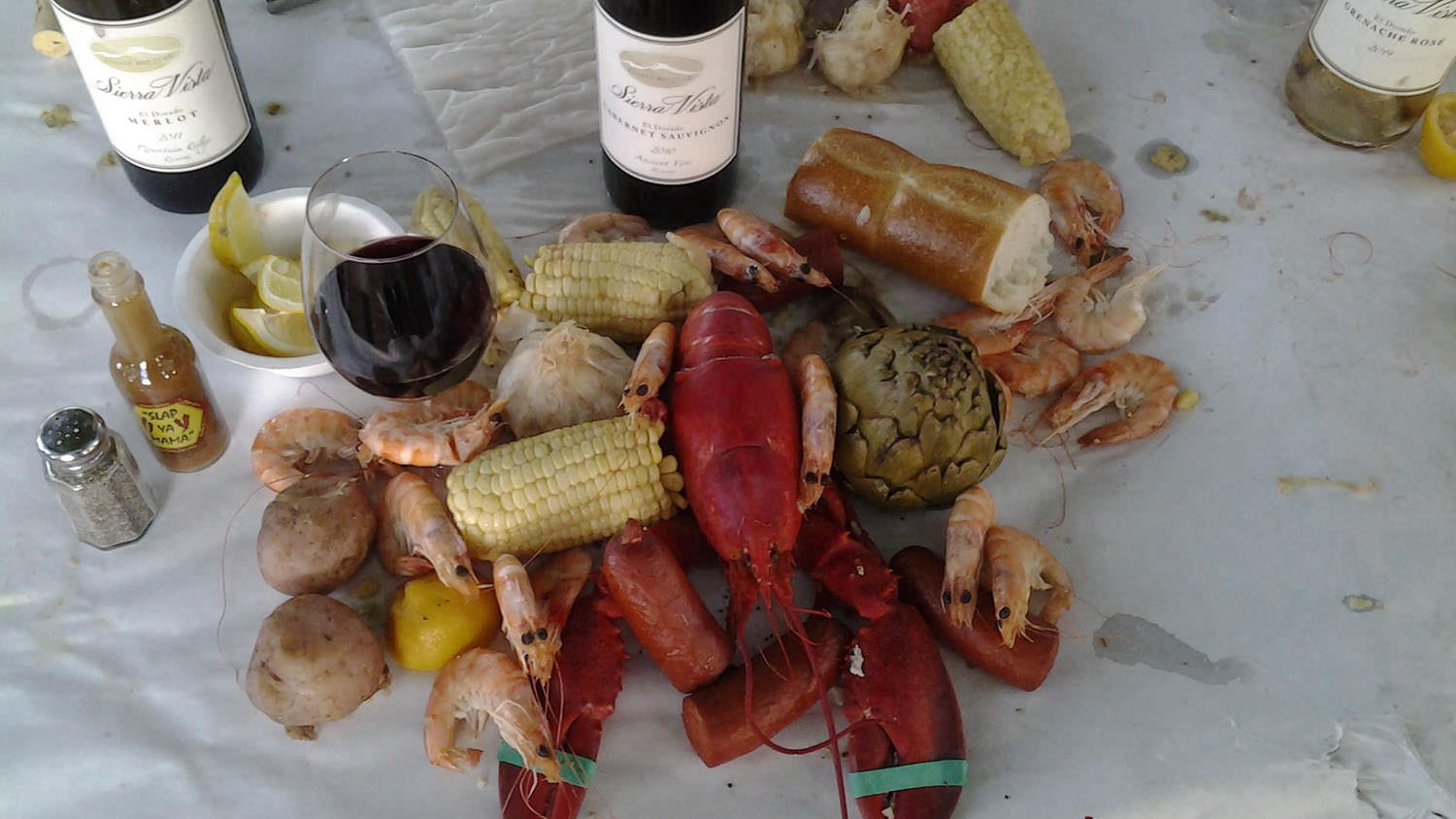 Sierra Vista - Events - Lobster Boil