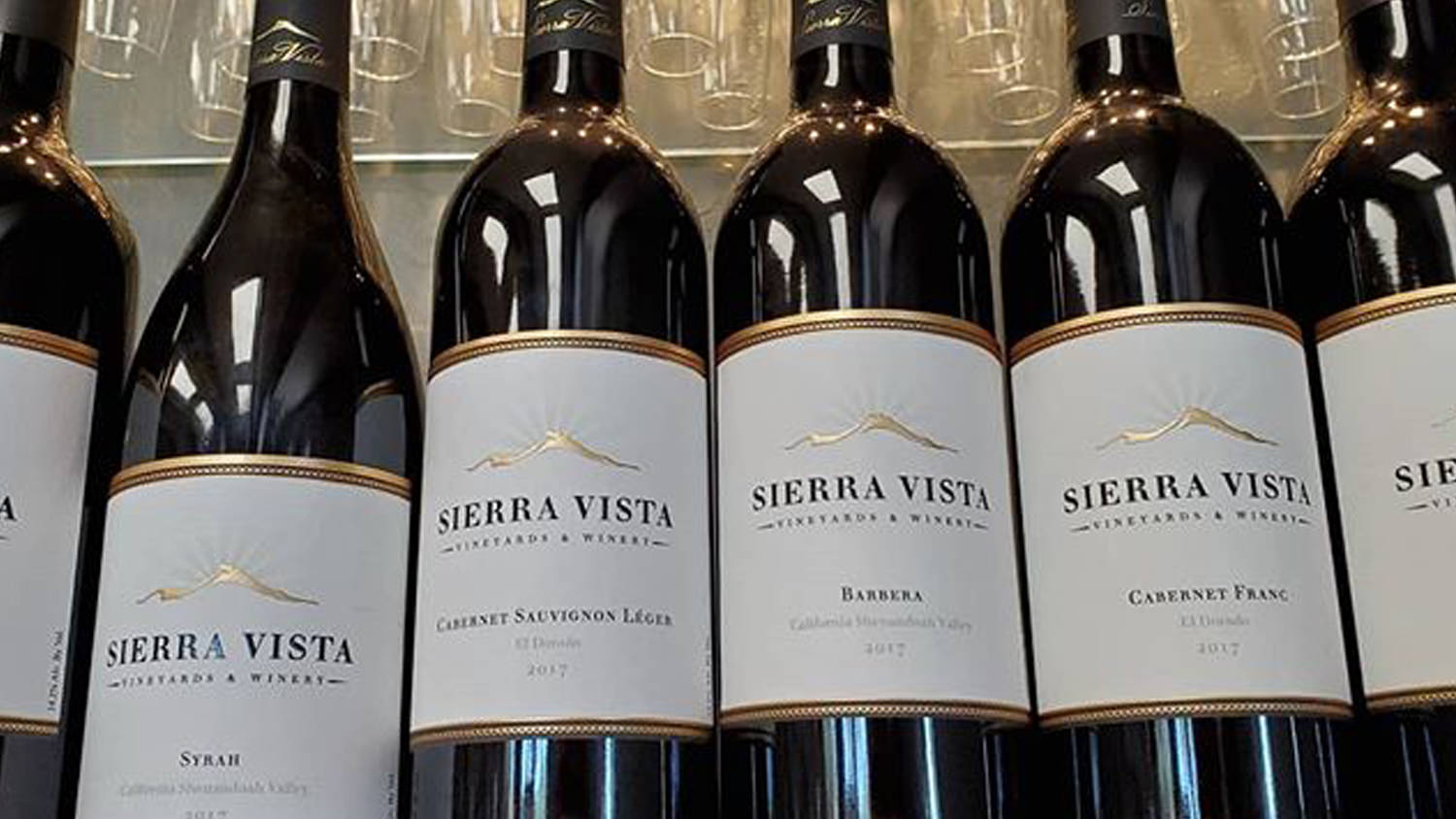 Sierra Vista Tasting Room Bottles of Wine