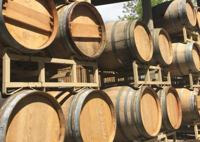 Sierra Vista Vineyards and Winery - Barrels