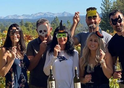Sierra Vista Vineyards and Winery - Halloween