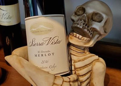 Sierra Vista Vineyards and Winery - Halloween Wine