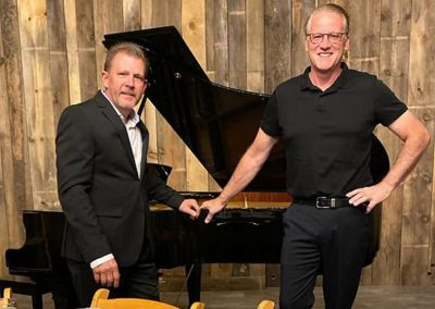 Sierra Vista Vineyards and Winery - Men Dressed Up with Piano