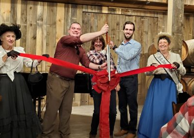 Sierra Vista Vineyards and Winery - Ribbon Cutting