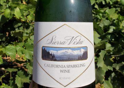 Sierra Vista Vineyards and Winery - Bottles of Sparkling Wine
